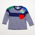 日本製 おとぎの国のニットセーター  ネイビー 2-3才 (1701-3255)