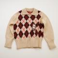 日本製 チャイルドの襟付きセーター  7-8才 (1701-3350)