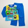 きかんしゃトーマス Tシャツ生地の長袖パジャマ 100cm-130cm(732TM108113)