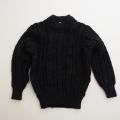 日本製 フクスケ Periのニットセーター ブラック 5-6才用(110cm) (1702-3748)