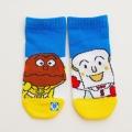 カレーパンマンとしょくぱんまん左右柄違いソックス・靴下 (1871-772-09-12-765)