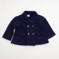 日本製 おとぎの国 紺のダブルブレザー 24か月(0703-4141)