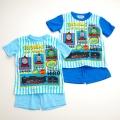 きかんしゃトーマス 半袖Tシャツ生地のパジャマ 100-130cm(732TM007112)