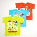 アンパンマン半袖Tシャツ 88くるま 90cm-110cm (SA3232)