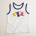 日本製 チャイルド ノースリーブのランニングシャツ 24か月(1705-5433)