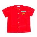 日本製 BABBLE BOON キムラタン衿つきシャツ 75cm (1705-5568)