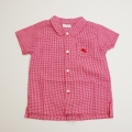日本製 おとぎの国 キムラタン衿つきシャツ 95cm (1705-5592)