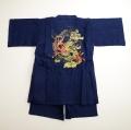 甚平スーツ 祭り 龍神 男の子 140cm/150cm/160cm(74586-NEB)