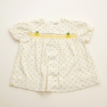 日本製 チャイルドちょうちん袖のお洋服 12か月 (1707-6303)