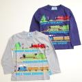 きかんしゃトーマス 長袖Tシャツ 100cm-120cm(743TM4011)