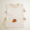 日本製 フクスケDOUGALのフレンチシャツ 110cm(1707-6577)