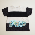 日本製 ENRICO COVERYのTシャツ 95cm (1707-6593)