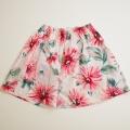 日本製 チャイルドの花柄スカート5-6才(110cm) (1707-6631)