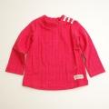 Lily ivory ( リリー アイボリー ) ハイネックTシャツ  80~130cm (71301-173)