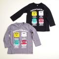 新幹線 長袖Tシャツ 100cm-120cm(EL9116)