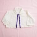 日本製 衿付きの長袖ボレロ 12 (1708-6898)