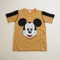日本製 ミッキー 亀岡 半袖Tシャツ 100cm  (1708-6828)