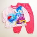 ディズニー!Princessプリンセス ナイトウェア 長袖パジャマ 100cm-120cm(108052)