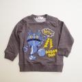 アンパンマンの仲間 だだんだん  さがら刺繍つき長袖トレーナー  90cm〜100cm (EA3879-EA9230-D)