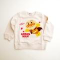 アンパンマンのさがら刺繍つき長袖トレーナー  90cm〜100cm (EA3879-EA9230-A)