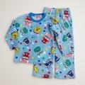 でんたま(新幹線) もこもこ長袖パジャマ 100-120cm(734DT107113)