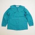レトロ BIINBI ナイガイ  衿つきブラウス 120cm(1710-8180)