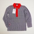 レトロ FUKUSUKE  衿つきシャツ 7−8才 (1710-8248)