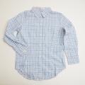 レトロ チェック衿つきシャツ 120cm (1710-8257)