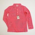 レトロ チャイルド 衿つきシャツ 110cm/120cm(1710-8275)