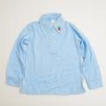 レトロ 衿つきシャツ サックス色 120cm(1710-8294)