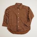 レトロ チャイルド 衿つきシャツ 120cm(1710-8297)