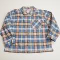 レトロ BABBLE BOON 衿つきネルシャツ 120cm(1710-8303)