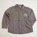 レトロ MG キムラタン 衿つきネルシャツ 120cm(1710-8306)