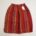 レトロ モヘヤツイード風生地のスカート 150cm (1710-8415)