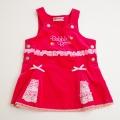 レトロ BABBLE BOON ピンクのスカート 80cm/90cm (1711-8642)