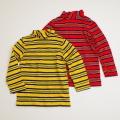 レトロ  チャイルドのボーダーハイネックシャツ 5-6才用 (1711-8681)