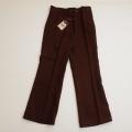 レトロ  チャイルドの長パンツ 120cm ブラウン (1711-8712)