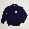 レトロ チャイルド 無地 衿つきセーター 7-8才(1712-8913)