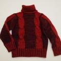 レトロ フクスケPimのバルギーセーター 5-6才/7-8才 (1712-9143)