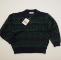 レトロ Joa Kids ヘンケルの衿つきセーター 110cm (1712-9147)