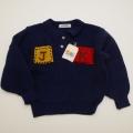 レトロ Joa Kids ヘンケルの衿つきセーター 110cm (1712-9150)