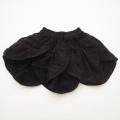 レトロ 2段のスカート 黒 フリー(100-120cm) (1801-9436)