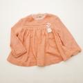 レトロ チャイルドのお洋服 24か月(90cm)杢ピンク(1803-9799)