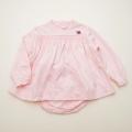 レトロ チャイルドのお洋服 ブルマ付き 24か月(90cm)ピンク(1803-9810)