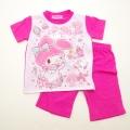 サンリオ マイメロディ 半袖Tシャツ生地のパジャマ  100-130cm(832MM007112)