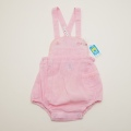 レトロ ピンク色のロンパス 75cm(1804-0413)