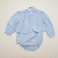 レトロ ピエール カルダン の長袖+ロンパス 24か月(90cm)(1804-0417)
