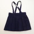 レトロ チャイルドの吊りスカート プリーツ (1805-0835)