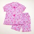 サンリオ ぼんぼんりぼん 半袖パジャマ  前開きボタン100-130cm(832BO204113)