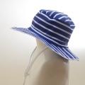 スイム ハット キッズ  水泳帽 ボーダー (HAT-1016-BN)